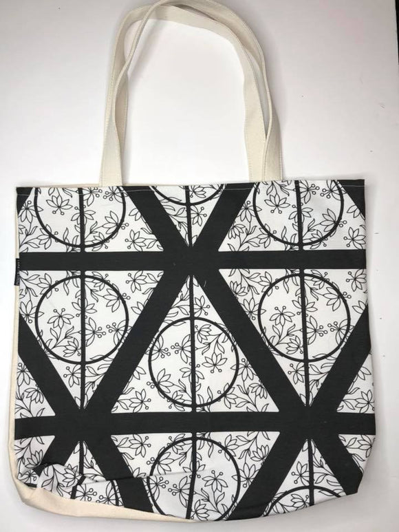 Deathly Hallows Canvas Tote Bag