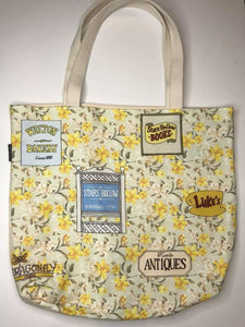 Homage to the S.H. Printed Canvas Tote Bag