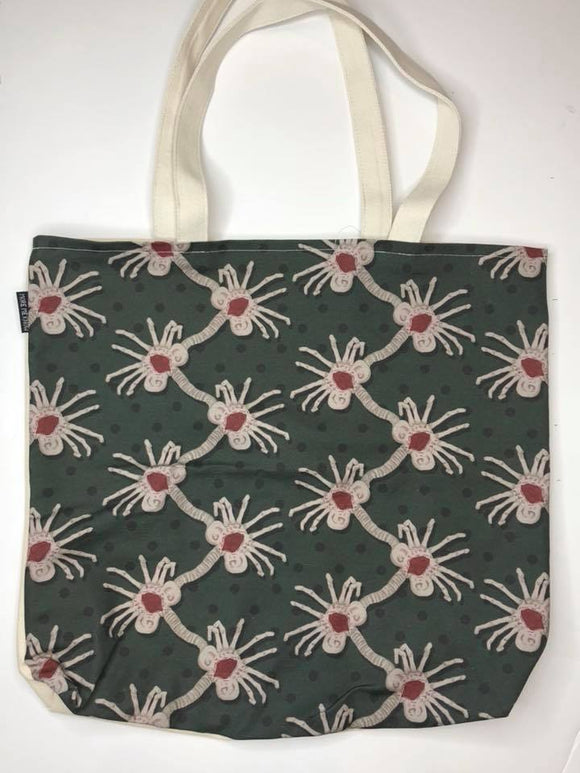 Facehuggers | Canvas Tote Bag