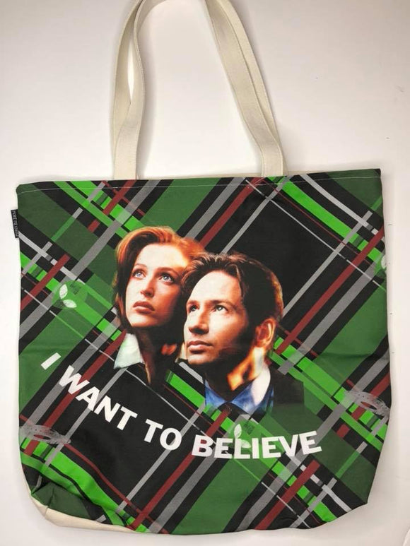 I Want to Believe | Canvas Tote Bag