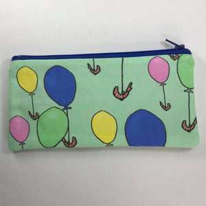 Shrimp Balloons Zipper Pouch