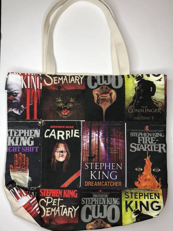 King of Books | Canvas Tote Bag