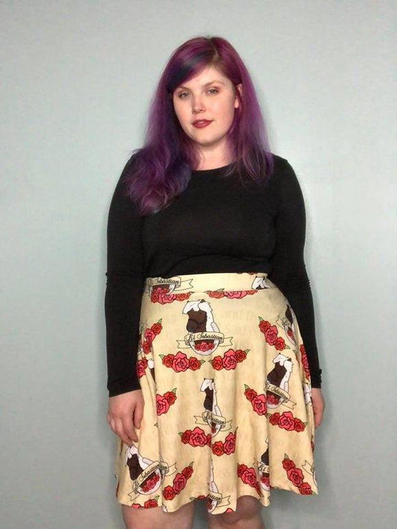 L'il Sebastian | A-line High Waist Band Skirt