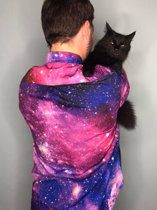 Galaxy | Men's Button Up Shirt