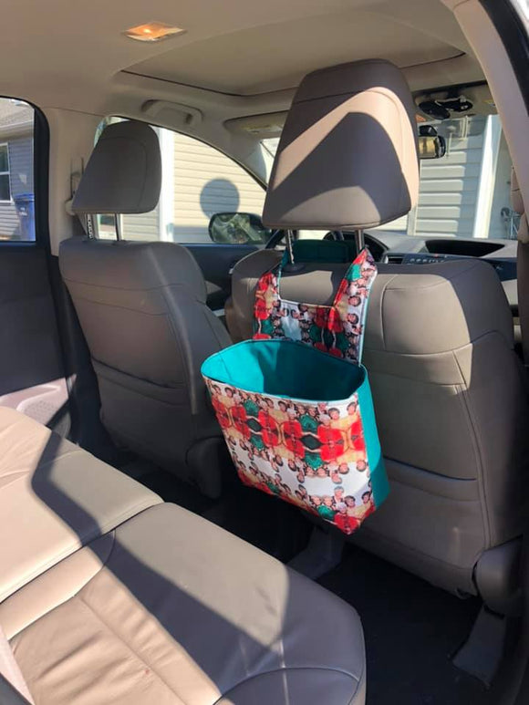 Car Trash Can - PDF Mini Sewing Pattern