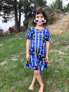 For Amy Doctor Who Sunflower | Kids Dress