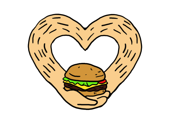 Burger Love - Patch