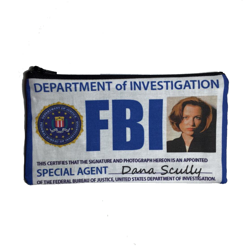 Dana Scully Zipper Pouch