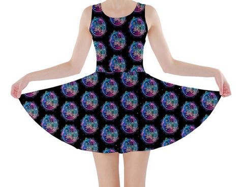 Lacey Police Box Skater Dress