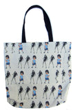 Single Ladies Custom Printed Canvas Tote Bag