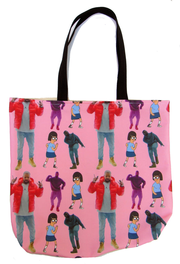 1-800 Dance Custom Printed Canvas Tote Bag