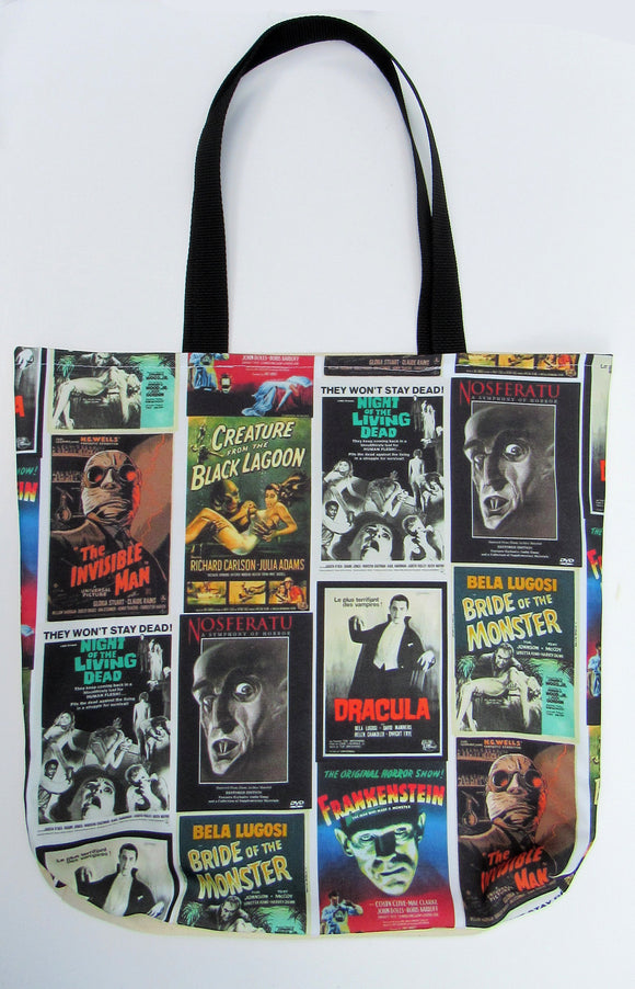 Monster Movie Inspired | Canvas Tote Bag