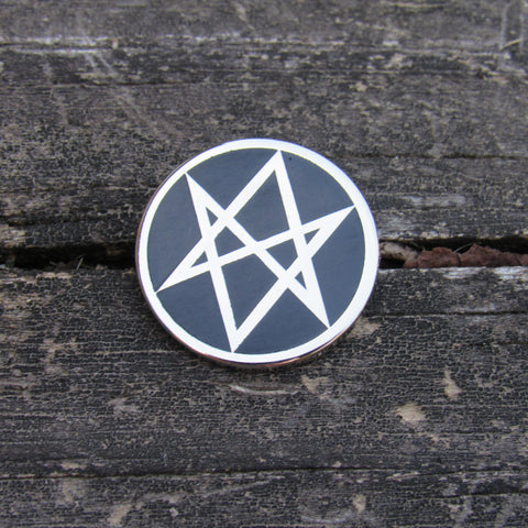 Men of Letters - Supernatural Pin Black