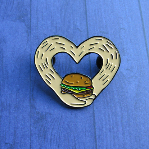 Burger Love - Enamel Pin