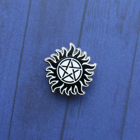 "Anti-Possession Symbol 1.25"" Enamel Pin"