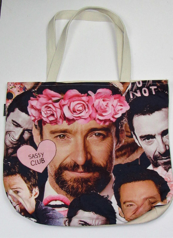 Hugh Jackman Inspired | Canvas Tote Bag