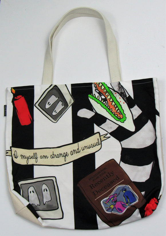 Strange & Unusual Custom Printed Canvas Tote Bag