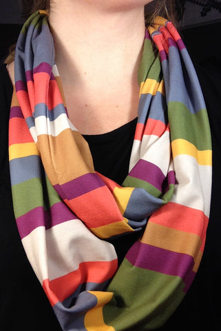Fourth Doctor Inspired Infinity Scarf
