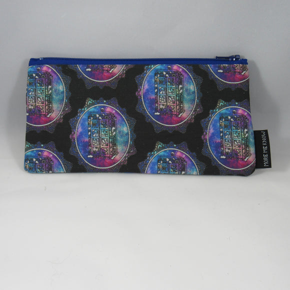 Galaxy TARDIS Zipper Pouch