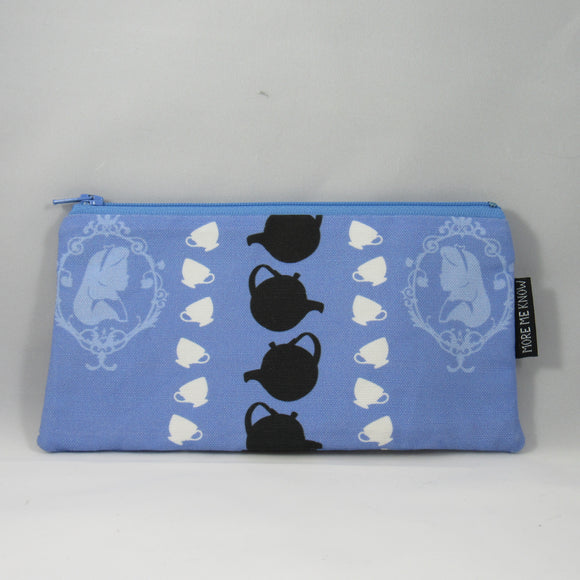Tea Time Zipper Pouch