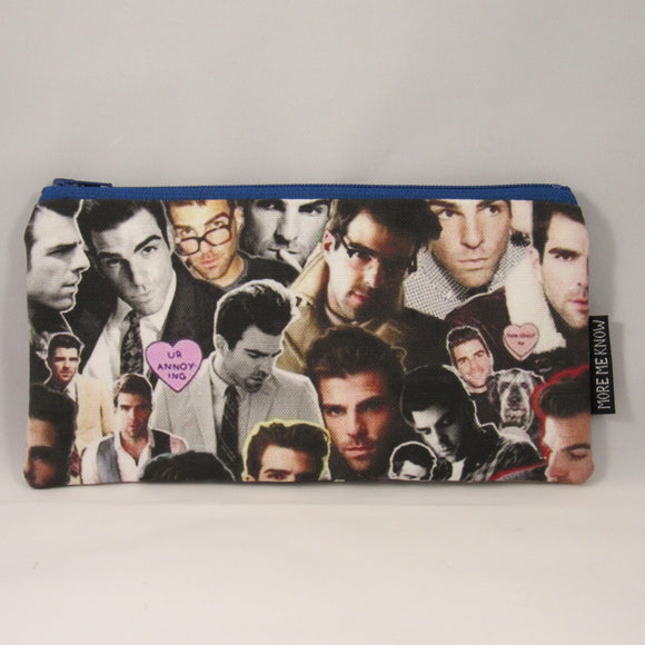 Zachary Quinto Zipper Pouch