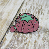 Glitter Pink Pin cushion - 1.25""