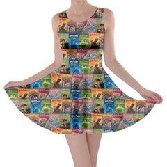 HP Book Worm Skater Dress