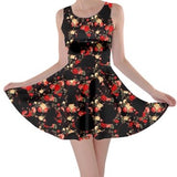 Beauty & the Shape of the Beast Skater Dress