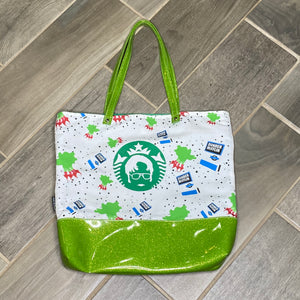 Dwight Coffeehouse | Canvas Tote Bag With Vinyl Accent