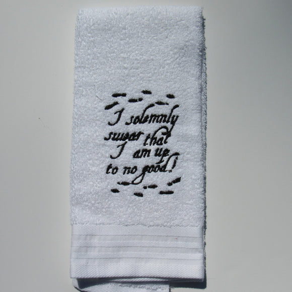 Marauders Map Decorative Hand Towel