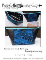 The Peek-A-Boo Beauty Bag - Sewing Pattern