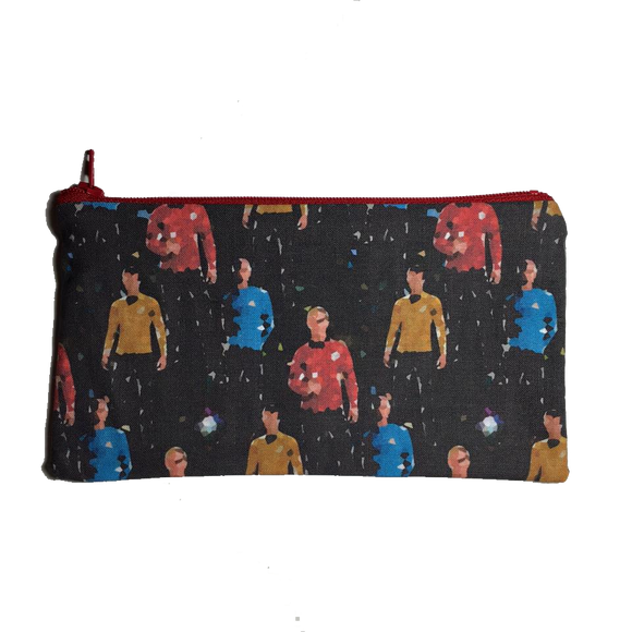 Star Trek Inspired Zipper Pouch