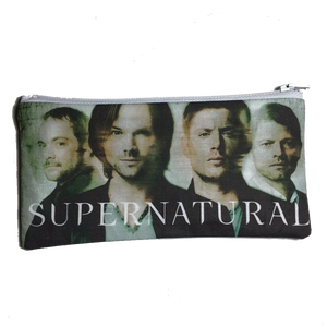 Supernatural Cast Inspired Zipper Pouch