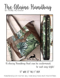 The Alaine Handbag - PDF Download ONLY Sewing Pattern