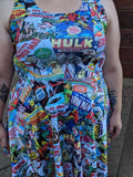 Comic Book | Skater Dress