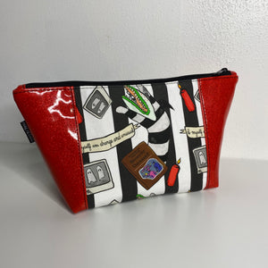 Beetle Juice in Red | Toiletry Bag