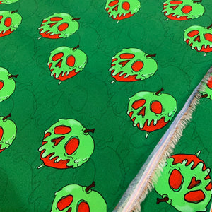 Green Poison Apples - 1 Yard Cut