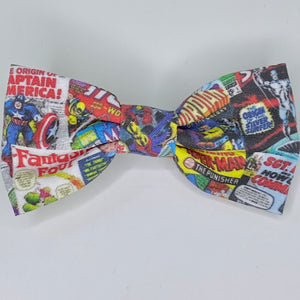 Comic Book | Hair Bow