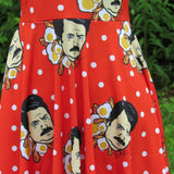 Ron Swanson Inspired Skater Dress