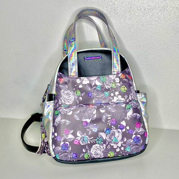 Holographic Dice | Zenaida Backpack