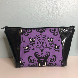 Haunted Mansion Black Glitter | Toiletry Bag