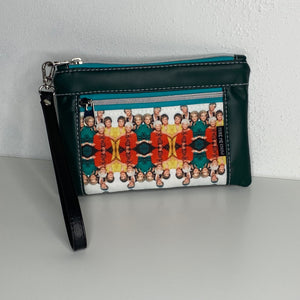 Golden Girls Green | Wristlet