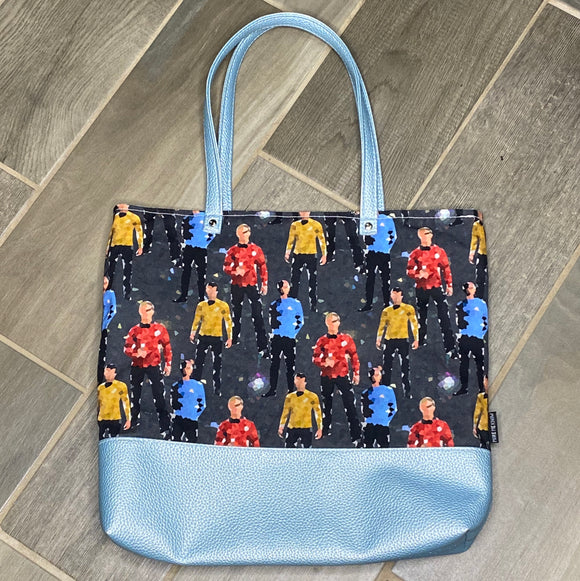 Star Trek Inspired | Canvas Tote Bag With Vinyl Accent