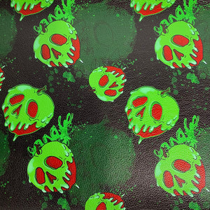 Radioactive Poison Apples - Round 19 Textured Vinyl roll