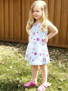 Under the Sea | Kids Sleeveless Dress