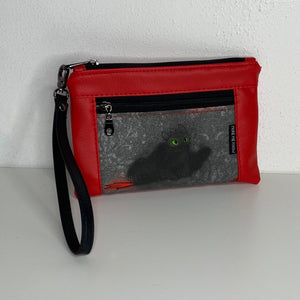 Toothless Red | Wristlet