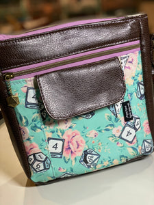Mint Critical Rose | The Flair Crossbody Bag