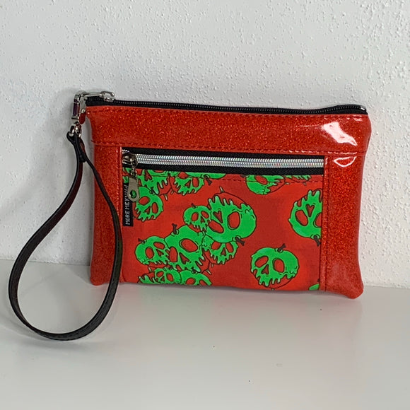 Poison Apple Glitter | Wristlet