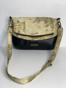 Middle Earth | Fold Over Cross Body Purse