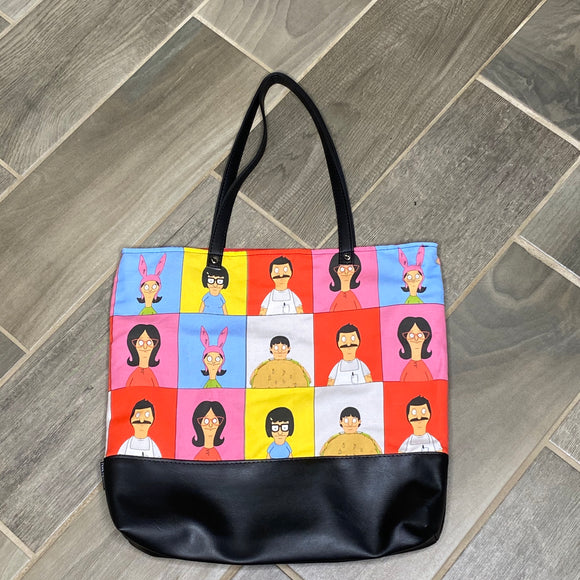 The Belcher Bunch | Canvas Tote Bag With Vinyl Accent